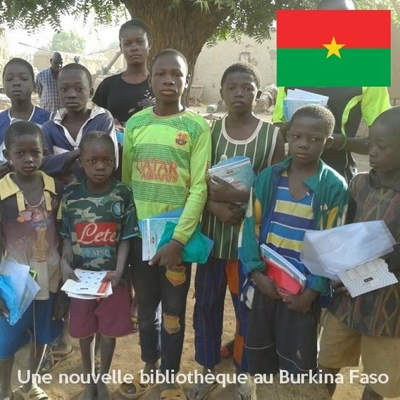 Pour la réfection et l'équipement d'une bibliothèque à l'école de Tierkou - Burkina Faso