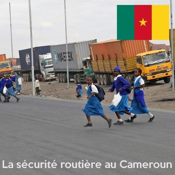 Des clubs de sécurité routière pour les écoles de Douala - Cameroun