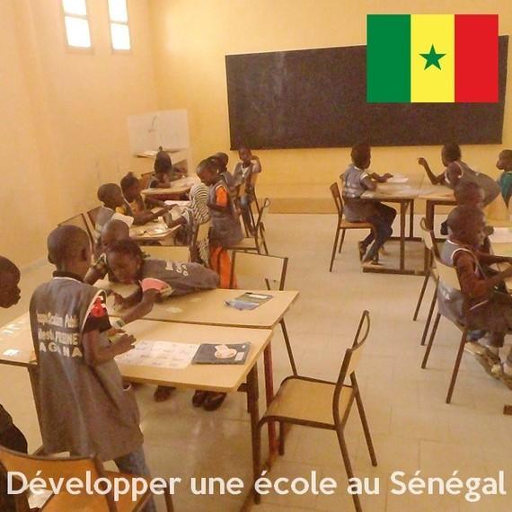 Développer l'école Célestin Freinet de Dagana - Sénégal