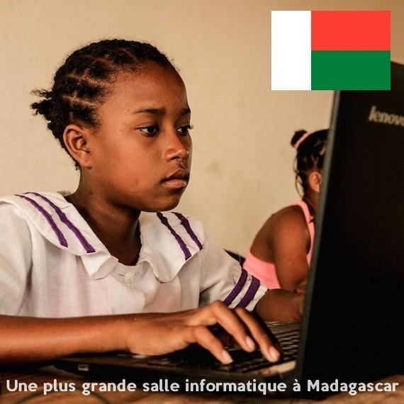 Pour une plus grande salle informatique à Tuléar - Madagascar