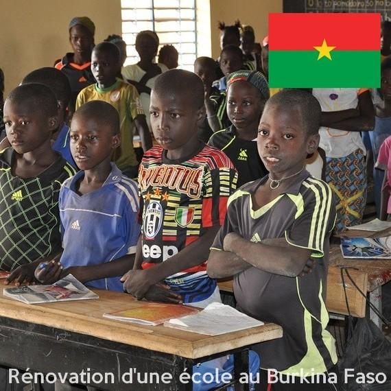 Pour la rénovation de l'école de Mantchangou - Burkina Faso