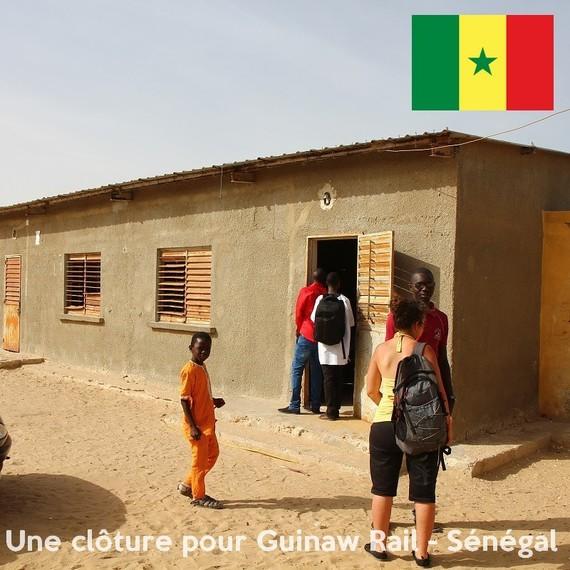 Une clôture pour Guinaw Rail - Sénégal