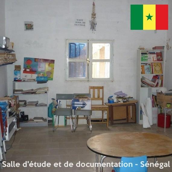 Une salle d'étude et de documentation à Boutou N'dour - Sénégal
