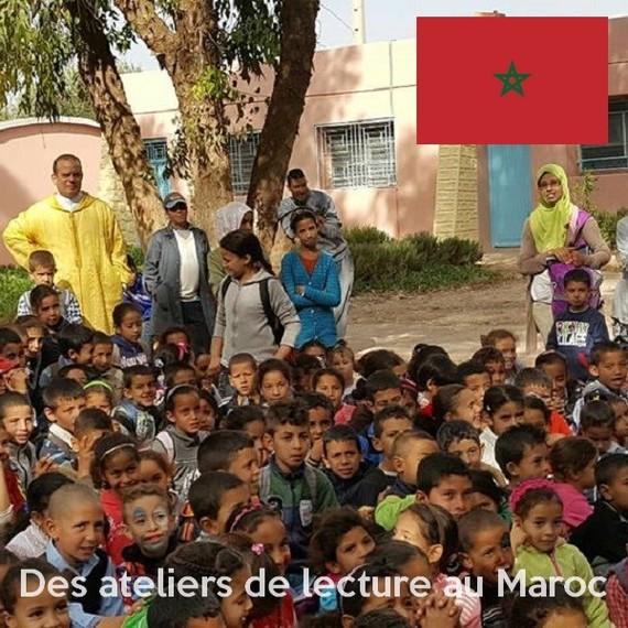 Des ateliers de lecture pour une éducation de qualité à Khouribga - Maroc
