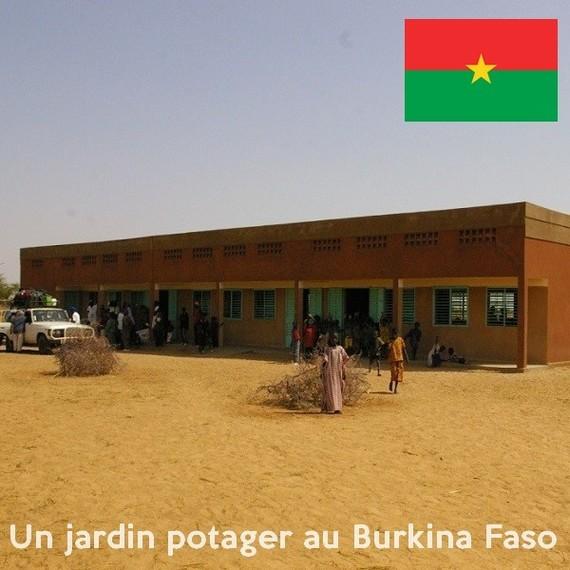Création d'un jardin potager pour l'école de Debentia - Burkina Faso
