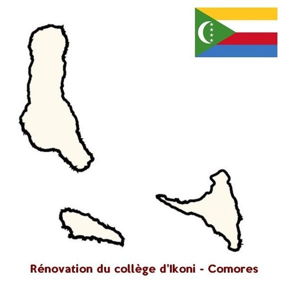 Rénovation du collège d'Ikoni - Comores