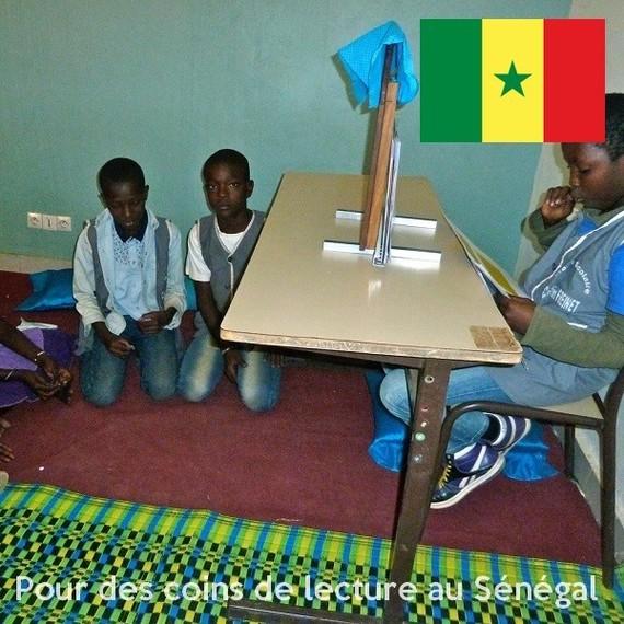 Enrichir la bibliothèque et les coins lecture de l'école de Dagana - Sénégal