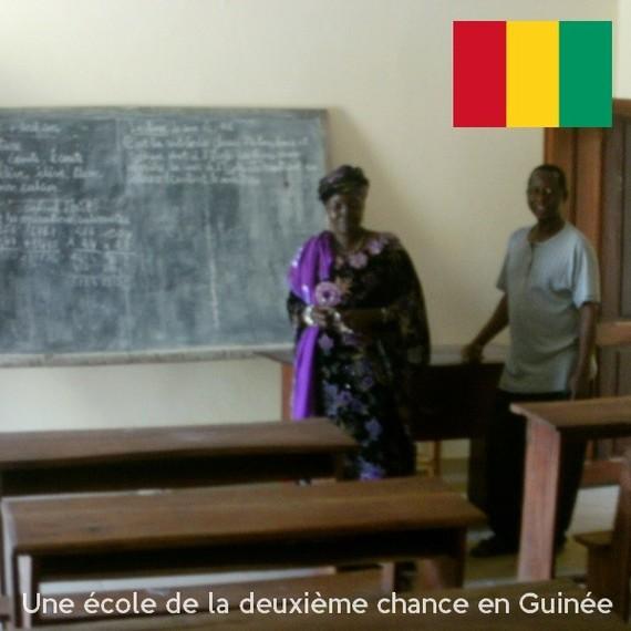 Pour une école de la deuxième chance à Kindia - Guinée