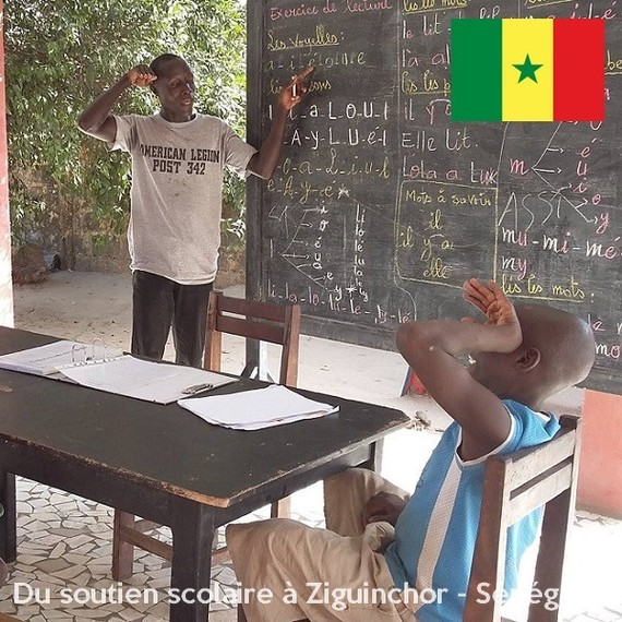 Pour de meilleures conditions de vie quotidiennes des enfants du Centre d'Hébergement d'Urgence - Sénégal